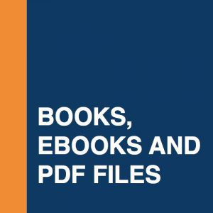 Books, ebooks and PDF files