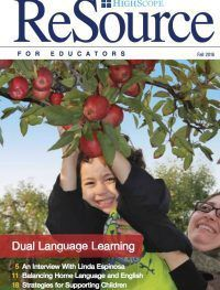 HighScope Resource Magazine on DLLs with articles by Karen Nemeth
